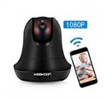 Wireless IP Camera, MZvul HD 1080P Internet WiFi IP Security Surveillance Camera Baby and Pet Monitor Nanny Cam with Pan/Tilt Motion Detection, 2 Way Audio & HD Night Vision, Support 64 GB SD Card