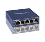 NETGEAR GS105NA 5-Port Gigabit Ethernet Network Switch   Lifetime Next Business Day Replacement   Sturdy Metal   Desktop   Plug-and-Play   Unmanaged