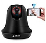 SOTION 1080P IP Internet Network WiFi Wireless Home Security Surveillance Video Camera System, Baby and Pet Monitor with Cry / Sound & Motion Detection, Two Way Audio & Night Vision