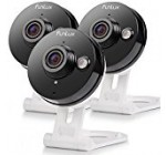 Funlux 3 Pack Wireless 720p HD – 115°Wide Viewing Angle – Smart Home WiFi IP Security Camera System with 2 – way Audio, Infrared Night Vision and Motion Detection