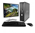 Dell Desktop Computer Package with WiFi, Dual Core 2.0GHz, 80GB, 2GB, Windows 10 Professional, 17″ Monitor Brands may vary (Certified Refurbished)