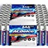 ACDelco AAA Batteries, Super Alkaline AAA Battery, Bulk Pack, 100 Count