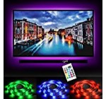 Bias Lighting LED TV Backlight Strip Emotionlite USB Powered Multi Color Changed RGB Tape for 60″ to 70″ Flat Screen HDTV LCD 24keys Remote Controller
