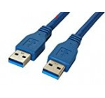 Superspeed USB 3.0 Type A Male to Type A Male 24/28AWG Cable (6 Feet, Blue) Free Shipping