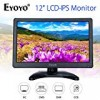 Eyoyo 12 inch HD 1920×1080 IPS LCD HDMI Monitor Screen Input Audio Video Display with BNC Cable for PC Computer Camera DVD Security CCTV DVR Home Office Surveillance
