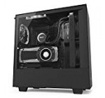 NZXT H500i – Compact ATX Mid-Tower PC Gaming Case – RGB Lighting and Fan Control – CAM-Powered Smart Device – Tempered Glass Panel – Enhanced Cable Management System – Water-Cooling Ready – Black