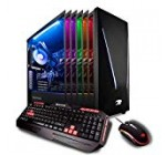 iBUYPOWER Pro Gaming Computer Desktop PC Intel i7-9700k 8-Core 3.6 GHz, Geforce RTX 2070 8GB, 16GB DDR4, 1TB HDD, 240GB SSD, Z370, Liquid Cooling, WiFi Ready, Windows 10, VR Ready (Trace 9230, Black)