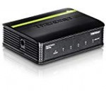 TRENDnet 5-Port Unmanaged Gigabit GREENnet Desktop Plastic Housing Switch, Plug & Play, 5 x Gigabit Ports, 10 Gbps, TEG-S5g