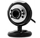 Fosmon USB 6 LED 1.2 Megapixel USB PC Webcam Web Camera + Mic/Microphone MSN, ICQ, AIM, Skype, Net Meeting and Support Windows 2000/XP/Vista and Later