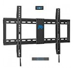 Mounting Desire Lower Profile Set Tv Wall Mount Bracket for Most 42-70 Inch LED, Lcd and Plasma Tv, Extremely Slim Tv set wall Bracket up to VESA 600 x 400mm and 132 LBS Loading Potential, MD2163-K