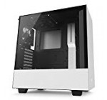 NZXT H500 – Compact ATX Mid-Tower Case – Tempered Glass Panel – All-Metal Development – Enhanced Cable Administration Method – Water-Cooling Ready – WhiteBlack