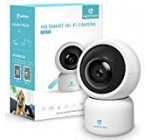 heimvision HM203 1080P Security Camera with Sensible Evening Eyesight/Ptz/Two-Way Audio, 2.4GHz Wireless Residence Surveillance IP Camera for Child/Elder/Pet/Nanny Check, Cloud Services/Microsd Assist