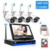 [8CH Expandable]All in 1 with ten.1″ Keep track of Wireless Protection Digicam Program,HisEEu 8ch Wi-fi Property Stability Digicam System,4pcs one.3MP Indoor/Outside Safety Cameras,Straightforward Distant See,1TB Difficult Generate