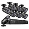 ZOSI PoE Home Safety Digicam Technique,8CH 2MP NVR with (8) two. Megapixel 1920×1080 Outdoor/Indoor Surveillance Bullet IP Cameras 120ft Long Evening Vision,Distant Access,Motion Detection(No Challenging Push)