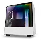 NZXT H500i – Compact ATX Mid-Tower Personal computer Gaming Situation – RGB Lighting and Supporter Manage – CAM-Run Smart Device – Tempered Glass Panel – Improved Cable Management Technique – Water-Cooling Prepared – White