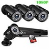 XVIM 8CH 1080P Protection Digital camera Method Residence Out of doors 1TB Hard Drive Pre-Put in CCTV Recorder 4pcs Hd 1920TVL Update Surveillance Cameras with Night Eyesight Straightforward Distant Entry Movement Warn