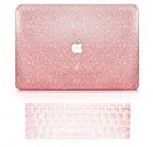 """Best Case – two in one Bundle Offer Rubberized Challenging Case + Keyboard Include for New MacBook Professional 13″ No Contact Bar (New MacBook Pro thirteen"""" (NO Touch Bar, 2016-2019), Rose Gold Sparkling)"""
