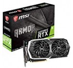 MSI Gaming GeForce RTX 2070 8GB GDRR6 256-little bit HDMI/DP/USB Ray Tracing Turing Architecture HDCP Graphics Card (RTX 2070 Armor 8G OC)