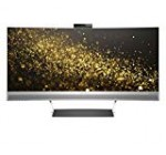 HP ENVY 34 Curved Show Ultra WQHD Curved Check with AMD Freesync Technological innovation, Webcam and Audio by Bang & Olufsen (Black/Silver)