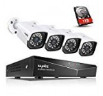 SANNCE 1080P POE Security Camera System with 1TB Difficult Travel,four Pcs 1920TVL Outdoor/Indoor CCTV Cameras, Effortless Installation, Actual Plug & Perform XPOE Network Video clip Surveillance Method