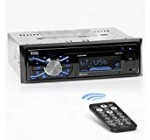 Manager Audio 508UAB Multimedia Auto Stereo – Solitary Din, Bluetooth Audio and Hands-Free of charge Contacting, Created-in Microphone, CD, MP3, USB, AUX Input, AM/FM Radio Receiver, Liquid crystal display Display, Wi-fi Remote Management