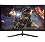Sceptre 24″ Curved 144Hz Gaming LED Monitor Edge-Much less AMD FreeSync DisplayPort HDMI, Metallic Black 2019 (C248B-144RN)