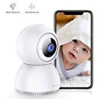 Victure 1080P Residence Protection Digicam Wireless Indoor Surveillance Digital camera Intelligent two.4G WiFi IP digicam with 2-Way Audio Night Eyesight Audio Detection and Motion Tracking for Baby/Pet Monitor with iOS&Android