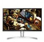 LG 27UL550-W 27 Inch 4K UHD IPS LED HDR Check with Radeon Freesync Technologies and HDR ten, Silver