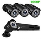 XVIM 1080P Residence Stability Camera Program 4CH CCTV DVR Recorder 4pcs Complete High definition 1080P 1920TVL Indoor Out of doors Water-proof Surveillance Cameras Night Vision, Motion Inform, Easy Distant Accessibility (No Hard Travel)