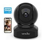 Wireless Protection Digital camera, IP Digital camera 1080P Hd Wansview, WiFi Property Indoor Camera for Infant/Pet/Nanny, Motion Detection, two Way Audio Evening Vision, Compatible with Alexa, with TF Card Slot and Cloud