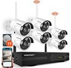 SMONET Wireless Protection Camera Program,eight-Channel 960P Wireless Video clip Safety Technique(1TB Difficult Push),6pcs 960P(one.3MP) Water-resistant Wireless IP Protection Cameras,Tremendous Night Eyesight,P2P, Cost-free Application