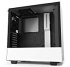 NZXT H510 – Compact ATX Mid-Tower Computer Gaming Circumstance – Entrance I/O USB Type-C Port – Tempered Glass Aspect Panel – Cable Administration System – Water-Cooling Ready – Metal Development – White/Black