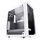 Fractal Layout Meshify C – Compact Mid Tower Pc Situation – Airflow/Cooling – 2X Followers Integrated – PSU Shroud – Modular Inside – H2o-Cooling Completely ready – USB3. – Tempered Glass Side Panel – White