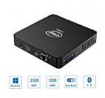 Z83-W Mini Computer Assist Home windows 10 Professional Intel Z8350 Fanless Mini Personal computer 2GB RAM/ 32GB eMMC, Hd Graphics, 1000M LAN, Twin Band WiFi, BT4.2, HDMI&VGA Port, Auto Electrical power On