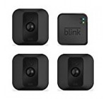 Blink XT Outdoor/Indoor Home Security Camera System for Your Smartphone with Motion Detection, Wall Mount, HD Video, 2 Year Battery and Cloud Storage Included – 3 Camera Kit