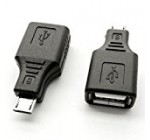 Ksmile® 2 Pack USB 2.0 Micro USB Male to USB Female Host OTG Adapter for Adroid / SamSung S7 S6 S4 S3 i9100 i9300 Note 2./ Google Nexus HTC LG Sony mobile phones or smart tablets