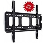 Mount-It! Low Profile Fixed TV Wall Mount Bracket for 32, 34, 37, 39, 40, 42, 47, 48, 49, 50, 52, 55, 60 Inch Flat Screen TVs, Ultra Slim Design with 175 Lbs Capacity Max VESA 750×450 6 ft HDMI cable