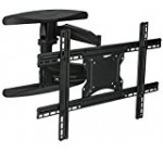 Mount-It! Full Motion Articulating Wall Mount for 40inch to 70 inch TVs Flat Screens LCD, LED, OLED 4K and 3D, VESA Max 600×400, 110 Lbs Weight Capacity