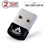 Avantree DG40S USB Bluetooth 4.0 Adapter Dongle for PC Laptop Computer Desktop Stereo Music, Skype Calls, Keyboard, Mouse, Support All Windows 10 8.1 8 7 XP vista [2 Year Warranty]