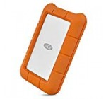LaCie Rugged 5TB USB-C and USB 3.0 Portable Hard Drive (STFR5000800)