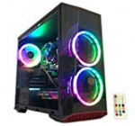 Gaming Personal computer Desktop Pc Intel i5 three.20GHz,8GB Ram,1TB Difficult Push,Windows ten professional,WiFi All set,Movie Card Nvidia GTX 650 1GB, three RGB Supporters with Distant
