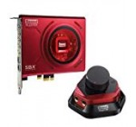 Creative Sound Blaster Zx PCIe Gaming Sound Card with High Performance Headphone Amp and Desktop Audio Control Module