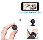 AOBO Mini Spy Digicam Wi-fi Hidden Property WiFi Security Cameras with App 1080P Night time Eyesight Motion Activated Indoor Outdoor Small Nanny Cam for Cars Condominium Live Streaming with Apple iphone/Android Mobile phone