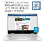"""HP Envy X360 2-in-one 2019 High quality 15.six"""" FHD Touchscreen Notebook Computer, four-Core Intel Core i7 one.8GHz, 8GB