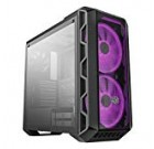 Cooler Learn MasterCase H500 ATX Mid-Tower w/ Tempered Glass Aspect Panel, Clear/ Mesh Entrance Selection, Carrying Take care of & 2x 200mm RGB Fans w/RGB Controller