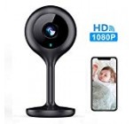 MECO WiFi IP Digicam 1080P Hd Residence IP Stability Nanny Digicam with Evening Vision, Sound & Motion Detection, Protection Surveillance two.4GHz Pet Child Keep track of – Cloud Services Obtainable