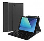 Fintie Keyboard Scenario for Samsung Galaxy Tab S3 9.7, Intelligent Trim Shell Stand Protect with S Pen Protective Holder Detachable Wireless Bluetooth Keyboard for Tab S3 9.7″ 2017 (SM-T820/T825/T827), Black
