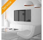 Television Wall Mounting – sixty six-eighty inches, Consumer Bracket, Cords Concealed in Twine Cover