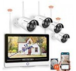 【2019 NEW】All in 1 with 12″ Keep track of Security Camera Method Wi-fi,SMONET 8-Channel 1080P House Security Technique (1TB Challenging Generate),4pcs one.3MP Out of doors Wi-fi IP Cameras,P2P,Effortless Remote Look at,Totally free Application