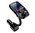 """VicTsing (Upgraded Version) Bluetooth FM Transmitter, Car Scan Unused Station Bluetooth Radio Transmitter Adapter for Vehicle with 1.eight"""" Shade Monitor, QC three., EQ Modes, Aux, Arms-Totally free Phone calls"""